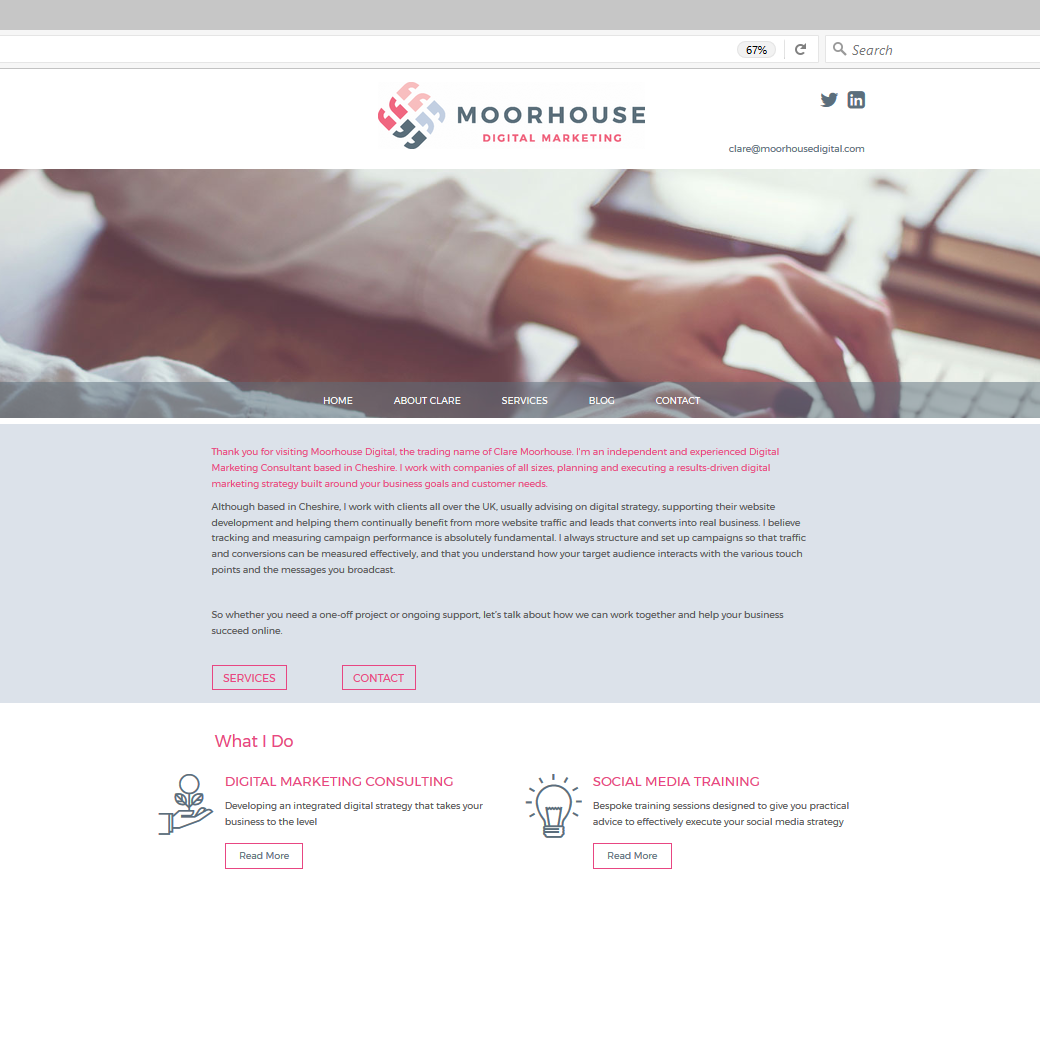 Moorhouse digital marketing